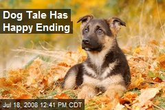 Dog Tale Has Happy Ending