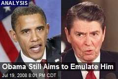 Obama Still Aims to Emulate Him