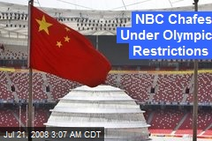 NBC Chafes Under Olympic Restrictions