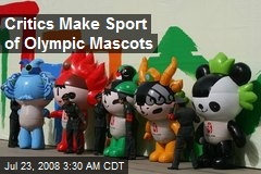 Critics Make Sport of Olympic Mascots