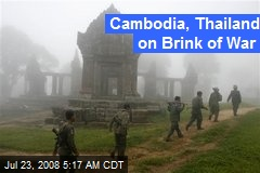 Cambodia, Thailand on Brink of War