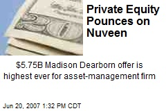 Private Equity Pounces on Nuveen