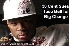 50 Cent Sues Taco Bell for Big Change