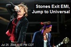 Stones Exit EMI, Jump to Universal