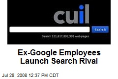 Ex-Google Employees Launch Search Rival