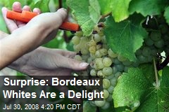 Surprise: Bordeaux Whites Are a Delight