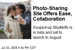 Photo-Sharing Site Offers Ease, Collaboration