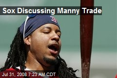 Sox Discussing Manny Trade