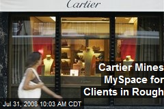 Cartier Mines MySpace for Clients in Rough