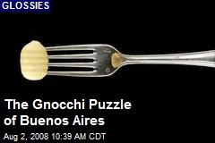 The Gnocchi Puzzle of Buenos Aires