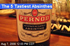 The 5 Tastiest Absinthes