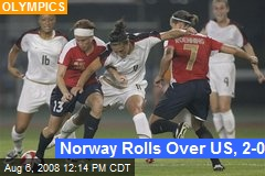 Norway Rolls Over US, 2-0