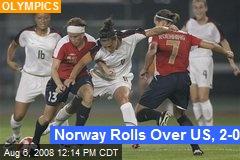Norway Rolls Over US, 2-0