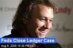 Feds Close Ledger Case