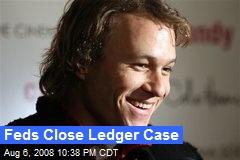 Feds Close Ledger Case