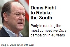 Dems Fight to Retake the South