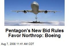 Pentagon's New Bid Rules Favor Northrop: Boeing