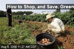 How to Shop, and Save, Green