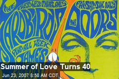 Summer of Love Turns 40