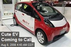 Cute EV Coming to Cali