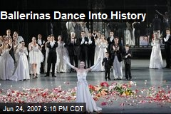 Ballerinas Dance Into History