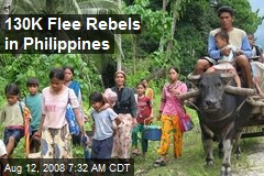 130K Flee Rebels in Philippines