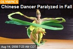 Chinese Dancer Paralyzed in Fall