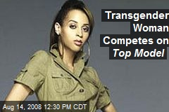 Transgender Woman Competes on Top Model