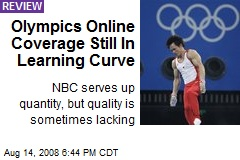 Olympics Online Coverage Still In Learning Curve