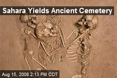 Sahara Yields Ancient Cemetery