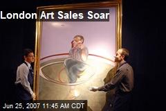 London Art Sales Soar