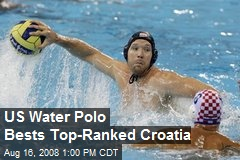 US Water Polo Bests Top-Ranked Croatia