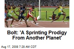 Bolt: 'A Sprinting Prodigy From Another Planet'