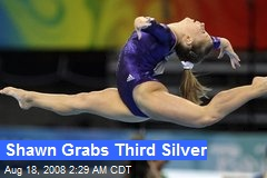 Shawn Grabs Third Silver