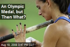 An Olympic Medal, but Then What?