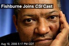 Fishburne Joins CSI Cast