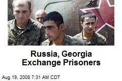 Russia, Georgia Exchange Prisoners
