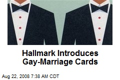 Hallmark Introduces Gay-Marriage Cards