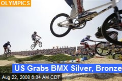 US Grabs BMX Silver, Bronze