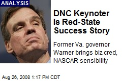 DNC Keynoter Is Red-State Success Story