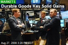 Durable Goods Key Solid Gains
