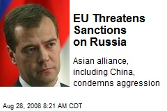 EU Threatens Sanctions on Russia