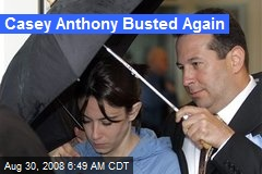 Casey Anthony Busted Again