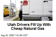 Utah Drivers Fill Up With Cheap Natural Gas