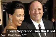 'Tony Soprano' Ties the Knot