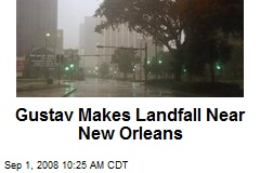 Gustav Makes Landfall Near New Orleans