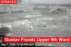 Gustav Floods Upper 9th Ward