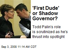 'First Dude' or Shadow Governor?