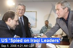 US 'Spied on Iraqi Leaders'
