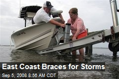 East Coast Braces for Storms